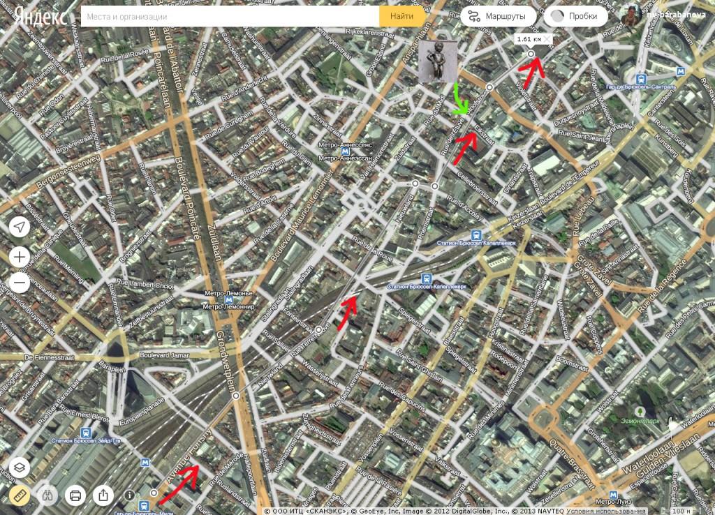 Прогулка по Брюсселю: от вокзала до главной площади