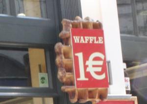 Вафля за 1 евро