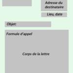 Lettre formelle delf B2 mise en page